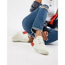 adidas Originals - Nmd R1 - Sneaker in Weiß und Rot - Weiß