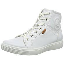 Ecco S7 Teen, Unisex-Kinder Hohe Sneakers, Weiß (WHITE01007), 34 EU (2 Kinder UK)