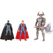 DC Justice League Movie Basis Figuren 3er-Pack (15 cm)