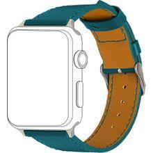 Topp Ersatz-/Wechselarmband »Leder mit Ziernaht für Apple Watch (38/40 mm)«