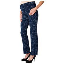 Noppies Damen Umstandsschlafanzughose Pants Jersey Utb Sterre Aop 66601, Mehrfarbig (Dark Blue C165), 38 (Herstellergröße: M)