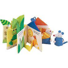 Buch - Stoffbuch Blätterhäuschen