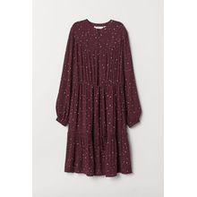 H & M - Kleid aus Viskose-Crêpe - Red - Damen