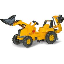 ROLLYTOYS rollyJunior CAT Backhoe-Loader