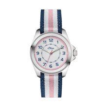 s.Oliver Armbanduhr für Mädchen blau Mädchen
