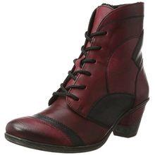 Remonte Damen D8774 Chukka Boots, Mehrfarbig (Wine/Schwarz/Vino), 41 EU