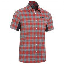 Gonso - Don - Hemd Gr 3XL;6XL schwarz/grau;rot