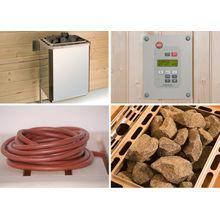 WEKA Set: Saunaofen »OS«, 9 kW, externe Steuerung, inkl. Zubehör