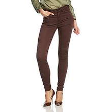 PIECES Damen Hose Ps JUST JUTE R.m.w. black Coffee, Gr. 34/36 (Herstellergröße: XS/S), Braun (Black Coffee)
