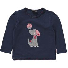 SALT AND PEPPER Langarmshirt navy / grau / rosa