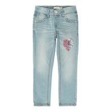 NAME IT Jeans 'SALLI DNM TONJA 1164' blue denim / rosa