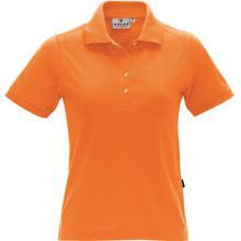 HAKRO Damen Polo-Shirt Performance - 216 - orange - Größe: 4XL