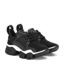 Sneakers Low Jaw mit Leder