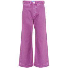 High-Rise Jeans Caron mit weitem Bein