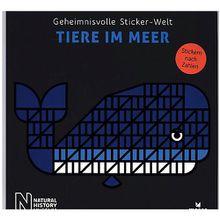 Buch - Geheimnisvolle Sticker-Welt: Tiere im Meer