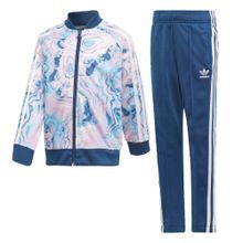 ADIDAS ORIGINALS Trainingsanzug himmelblau / rosa / weiß