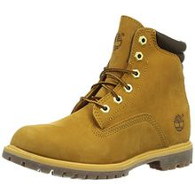 Timberland Waterville_Waterville 6in Basic, Damen Halbschaft Stiefel, Braun (Wheat), 37 EU (4 Damen UK)