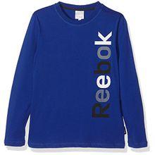 Reebok Kinder T-Shirt TEE Shirt Sweatshirt Longsleeve blau Gr. 164
