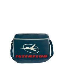 LOGOSHIRT Tasche 'Interflug' dunkelblau