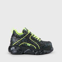 Jaded x CLD Corin Sneaker navy mit Glitzer