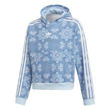 ADIDAS ORIGINALS Sweatshirt himmelblau / hellblau / weiß