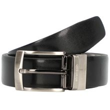 strellson Premium Belt Wendegürtel Leder schwarz Herren
