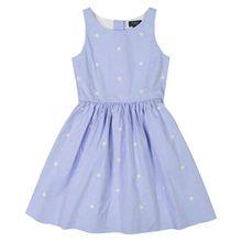 Polo Ralph Lauren Mädchen-Kleid - Blau (92, 116, 164, 176)