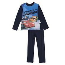 Disney Cars Lightning McQueen Kinder Langes Pyjamas / Nachtwäsche (Marineblau , 6 Jahre)