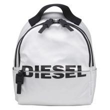 DIESEL Rucksack 'Bold Back' schwarz / weiß