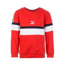 PUMA Sweatshirt 'XTG' navy / hellrot / weiß