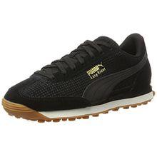 Puma Unisex-Erwachsene Easy Rider Natural Warmth Sneaker, Schwarz (Black-Whisper White), 44 EU