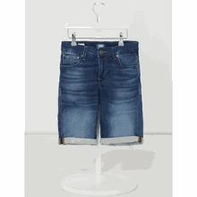 Regular Fit Jeansshorts mit Stretch-Anteil Modell 'Rick'