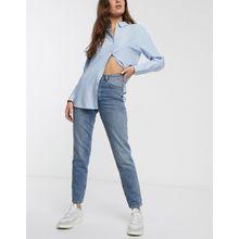 Selected Femme - Jeans mit geradem Beinschnitt - Blau