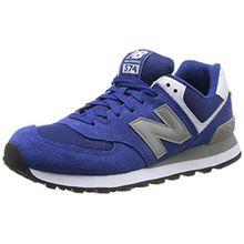 New Balance ML574 D, Unisex-Erwachsene Sneakers, Blau (SGB BLUE/SILVER), 40.5 EU (7 Erwachsene UK)