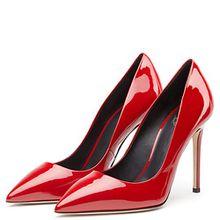 Amy Q , Damen Pumps, rot - rot - Größe: 42