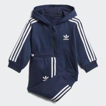 adidas Originals Trainingsanzug »Trefoil Full Zip Hoodie Trainingsanzug«
