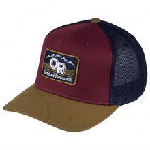 Outdoor Research - Advocate Trucker Cap - Cap Gr One Size lila/braun/schwarz;grau/schwarz/rot