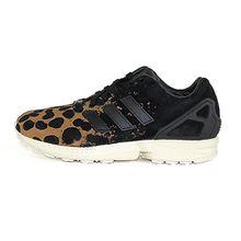 adidas Damen ZX Flux W Sneakers, Leopard/Noir, 37 1/3 EU