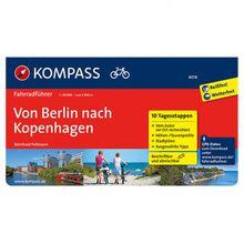 Kompass - Von Berlin nach Kopenhagen - Radführer RF 6016