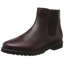 Ganter Damen Chelsea Boots Chelsea Boots Frida, Weite F, Rot (Vino 4200), 40.5 (Herstellergröße: 7)