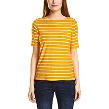 Cecil Damen T-Shirt 311867, Gelb (Golden Lemonade 21197), XX-Large
