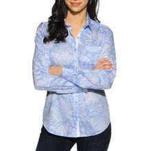 Milano Bluse in blau für Damen