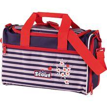 Sporttasche Happy Stripes (Kollektion 2019) rosa/lila