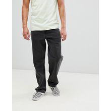ASOS DESIGN - Baggy-Jeans in verwaschenem Schwarz - Schwarz