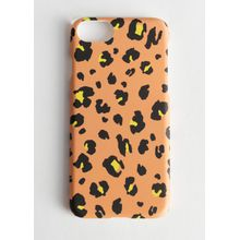 Hard Leopard iPhone Case - Yellow