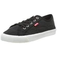 Levi's Damen Malibu W Sneaker, Schwarz (Noir Regular Black), 40 EU