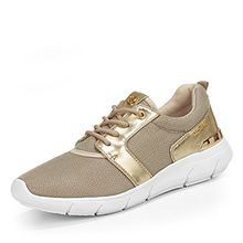 TOM TAILOR Denim Tom Tailor Sneaker, Groesse 39, Gold