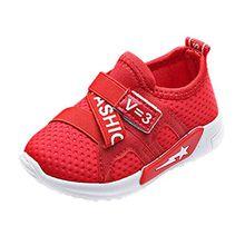 Hunpta Baby Mädchen Jungen Casual Sneakers Sportschuhe Outdoor Laufschuhe (29, Rot)
