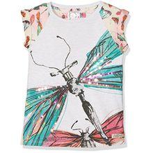 Desigual Mädchen T-Shirts TS_Florida, Weiß (Algodón 1015), 152 (Herstellergröße:11/12)