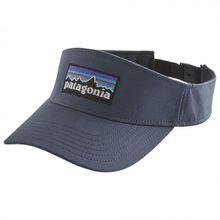 Patagonia - P-6 Logo Visor - Cap Gr One Size schwarz/blau/grau